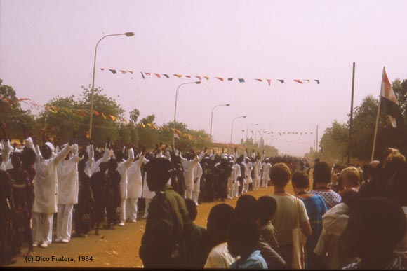 National Parade in Niamey Niger