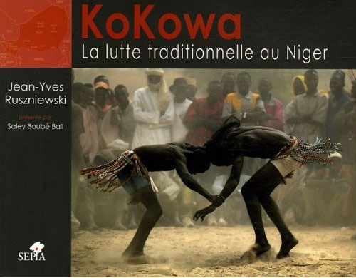 front page  book KoKoWa lutte traditionelle